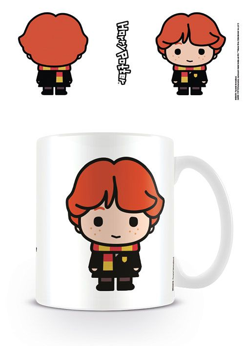 Harry Potter mug Kawaii Ron Weasley