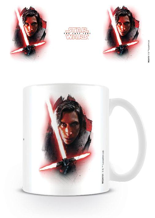 Star Wars Episode VIII mug Kylo Ren Brushstroke