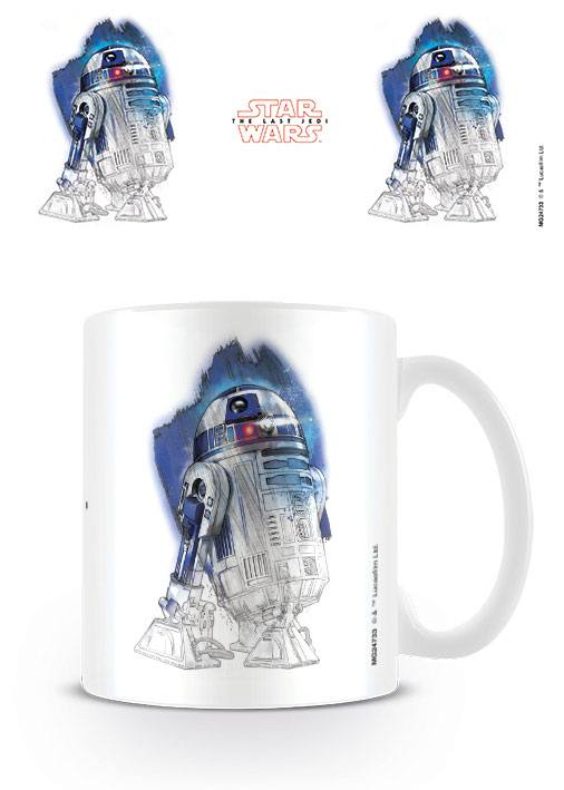 Star Wars Episode VIII mug R2-D2 Brushstroke