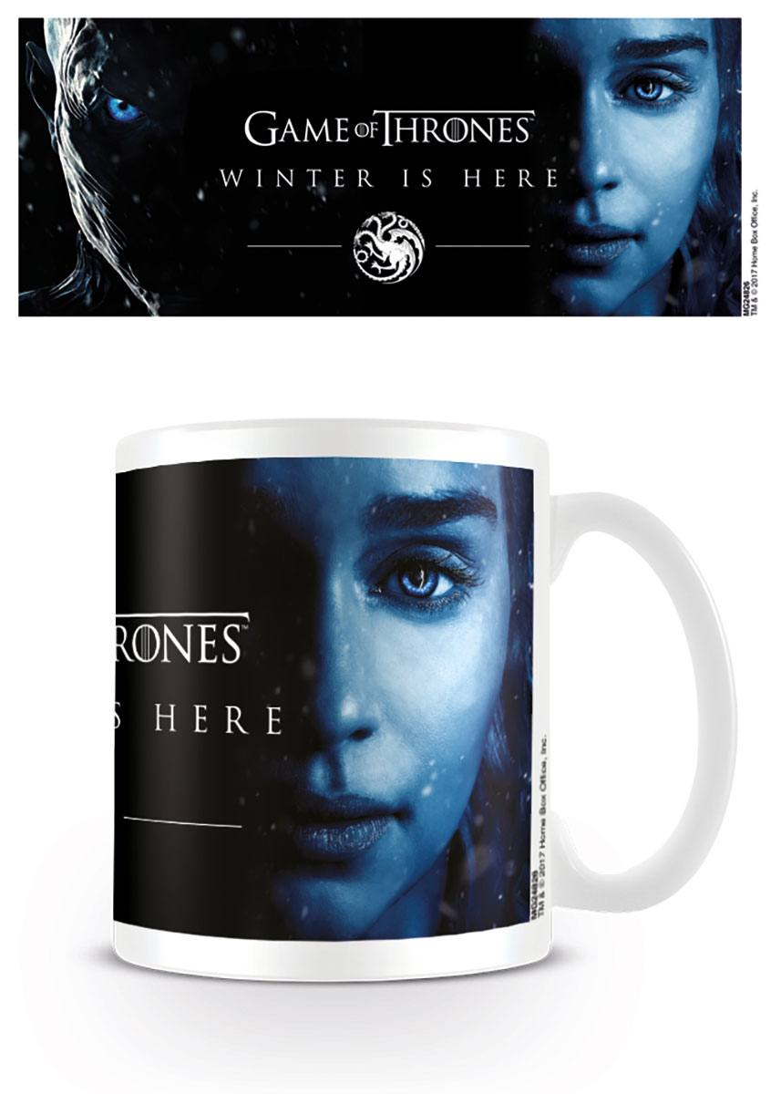 Le Trône de fer mug Winter Is Here - Daenereys