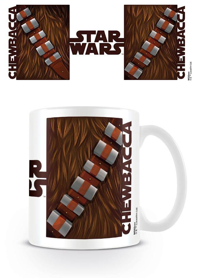 Star Wars mug Chewbacca Torso