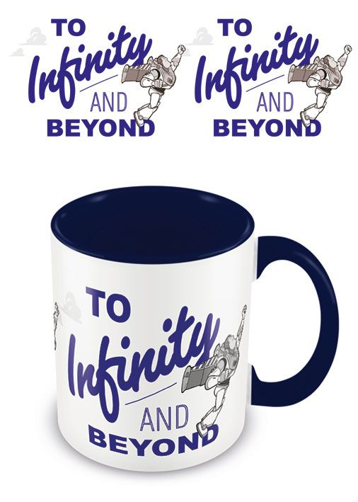 Toy Story mug Coloured Inner To Infinity And Beyond