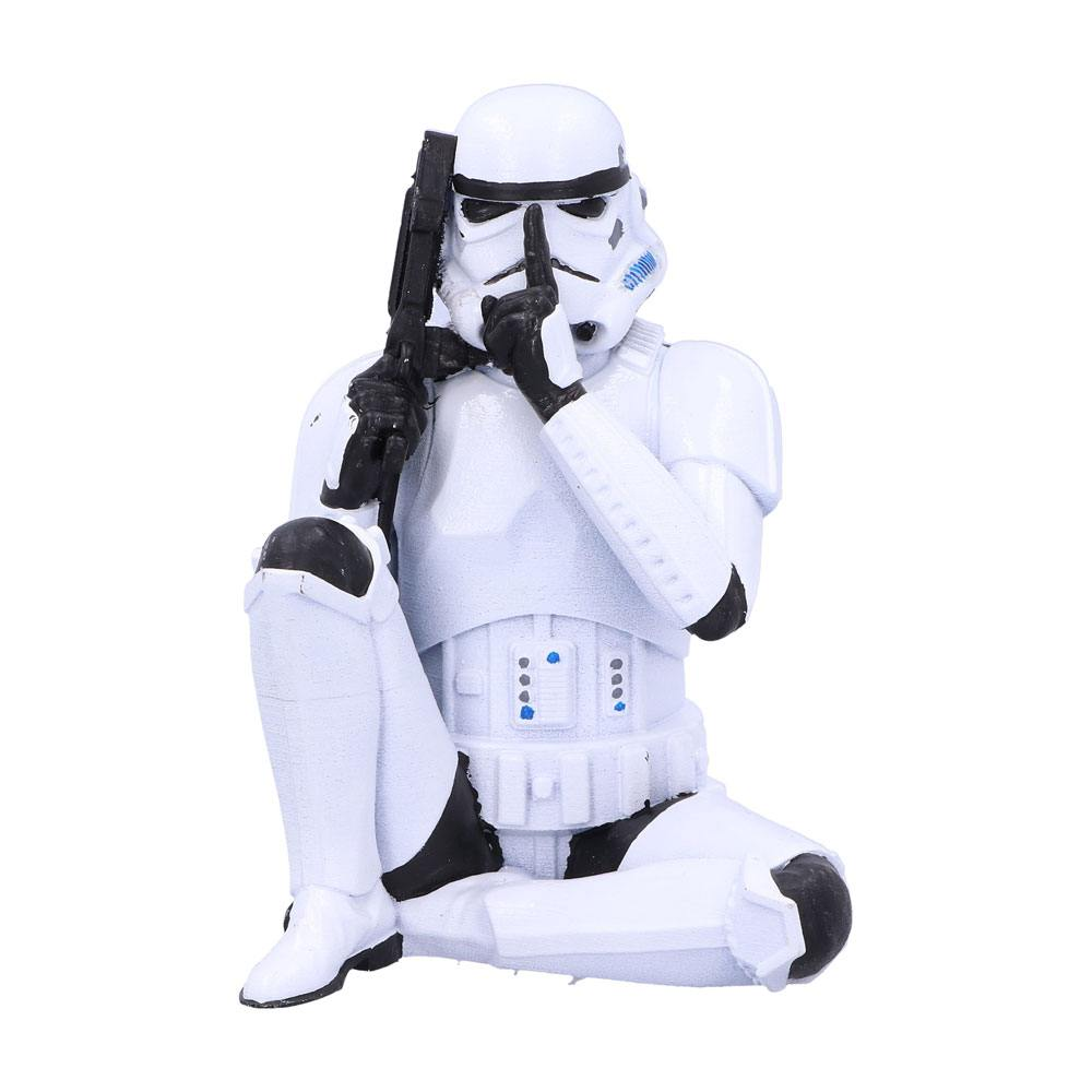 Original Stormtrooper figurine Speak No Evil Stormtrooper 10 cm