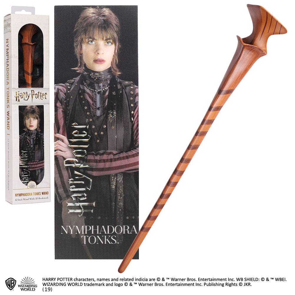 Harry Potter réplique baguette PVC Nymphadora Tonks 30 cm