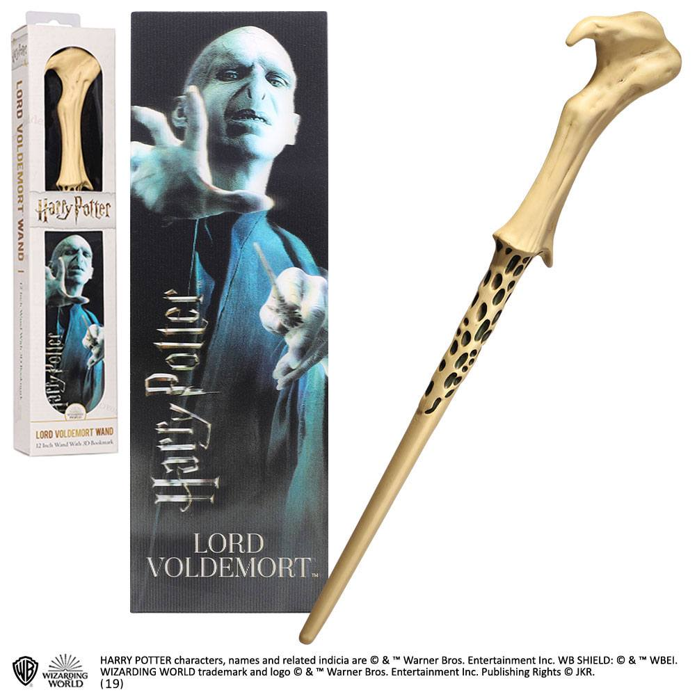 Harry Potter réplique baguette PVC Lord Voldemort 30 cm
