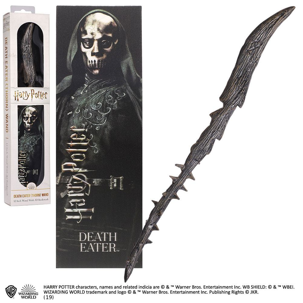 Harry Potter réplique baguette PVC Death Eater 30 cm
