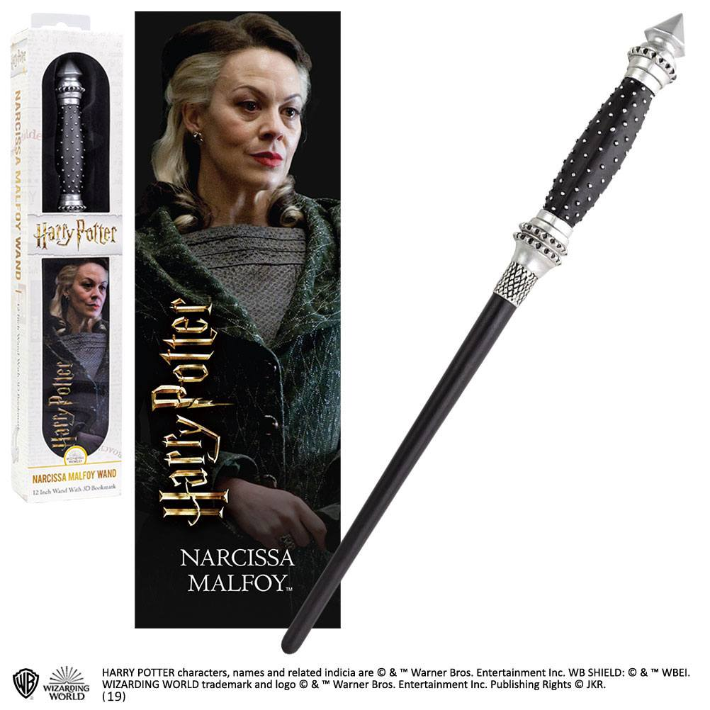 Harry Potter réplique baguette PVC Narcissa Malfoy 30 cm