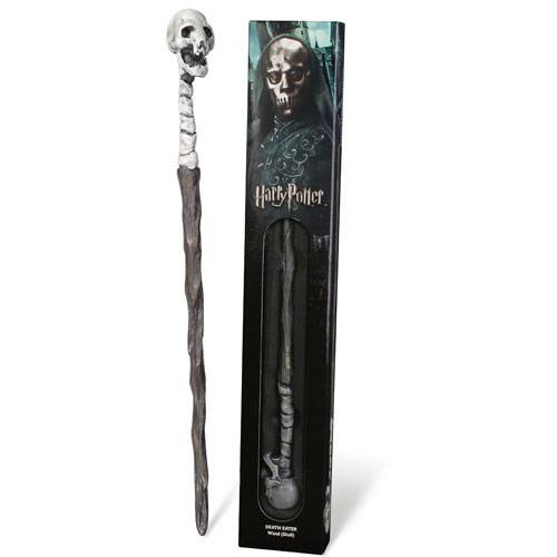 Harry Potter réplique baguette Death Eater Skull 38 cm