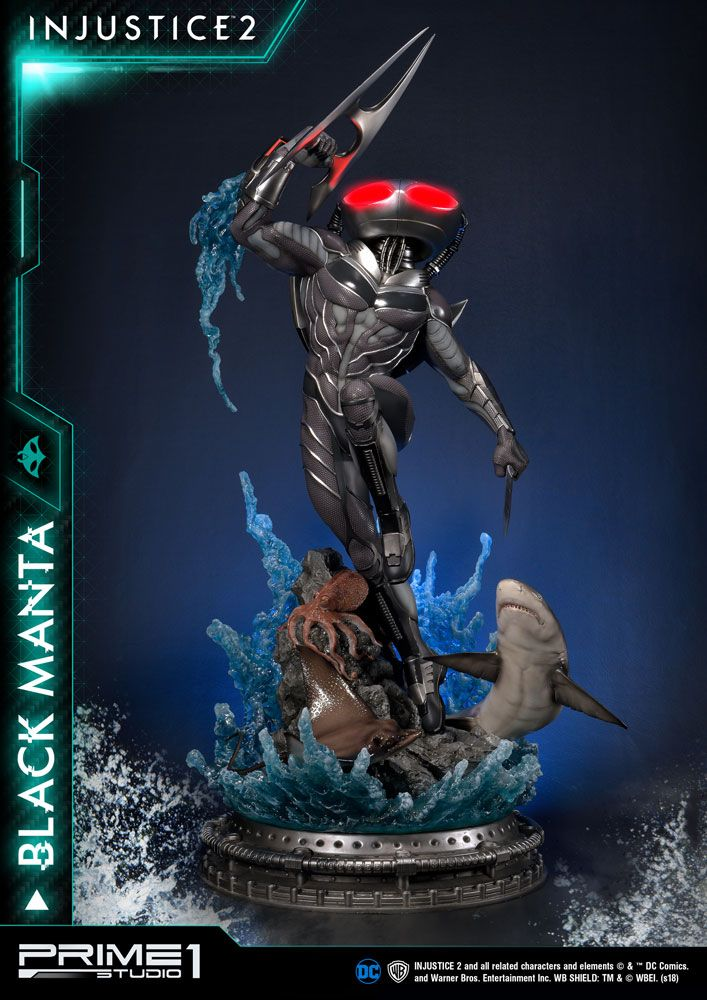 Injustice 2 statuette Black Manta 77 cm