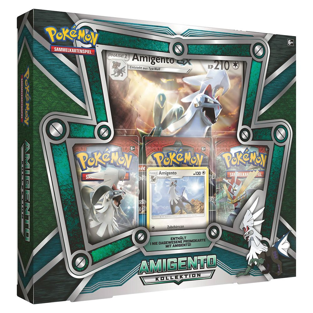 Pokemon Shining Legends Silvally-Kollektion *ALLEMAND*