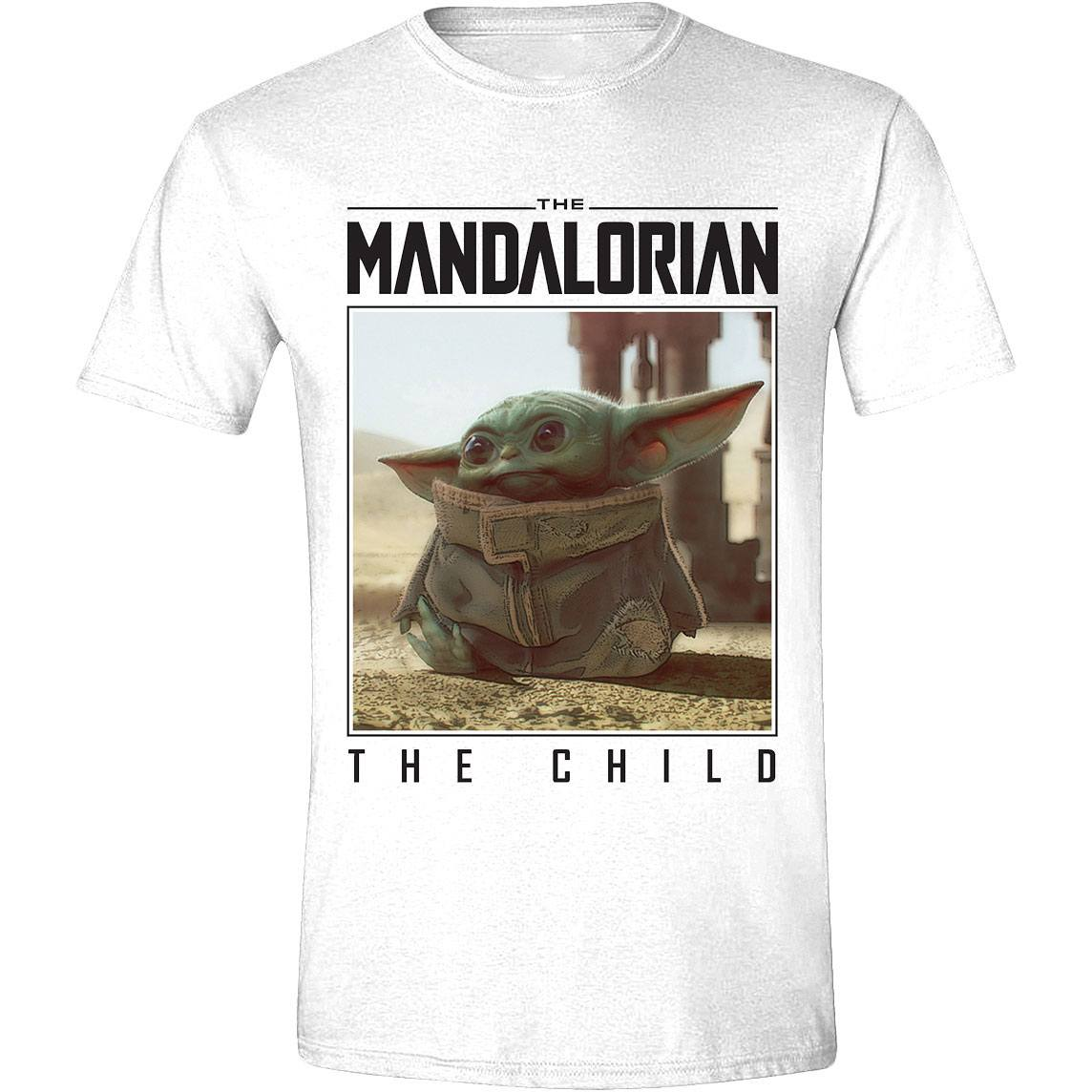 Star Wars The Mandalorian T-Shirt The Child Photo (S)