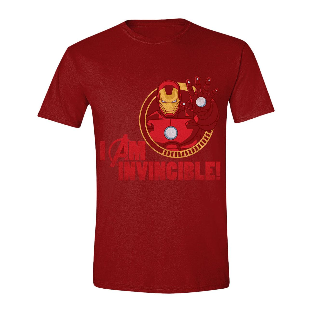 Avengers T-Shirt Iron Man I Am Invincible (S)