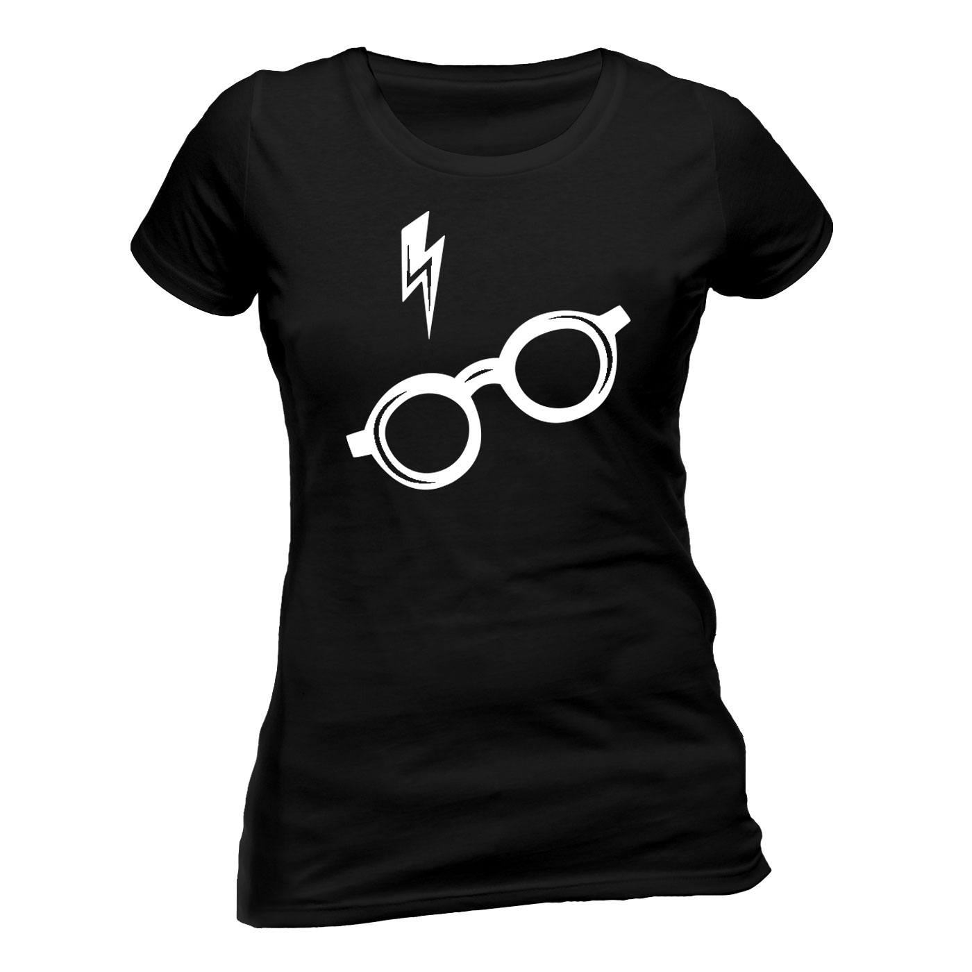 Harry Potter T-Shirt femme Glasses (S)