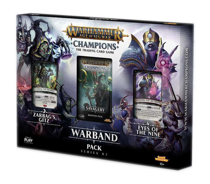 Warhammer Age of Sigmar : Champions Warband Collectors Pack série 2 *ANGLAIS*