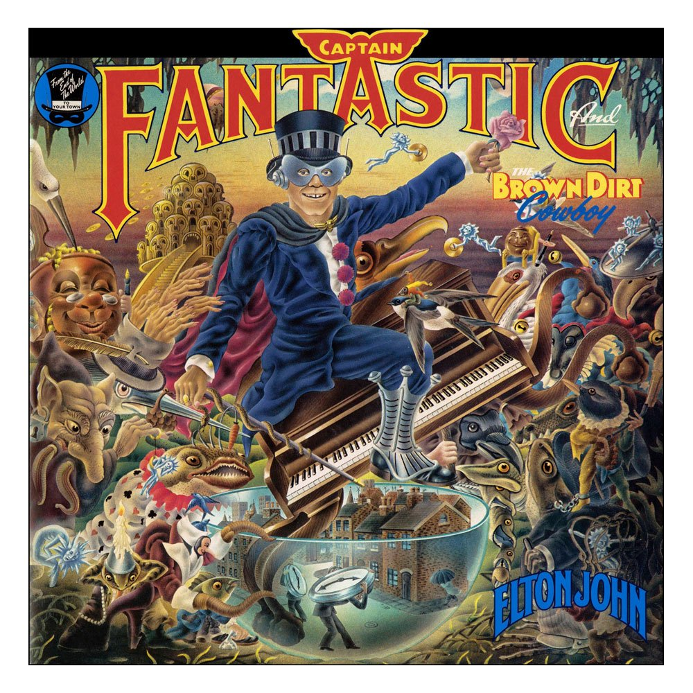 Elton John Rock Saws puzzle Captain Fantastic and The Brown Dirt Cowboy (1000 pièces)