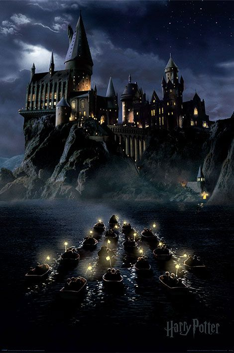 Harry Potter pack posters Hogwarts Boats 61 x 91 cm (5)