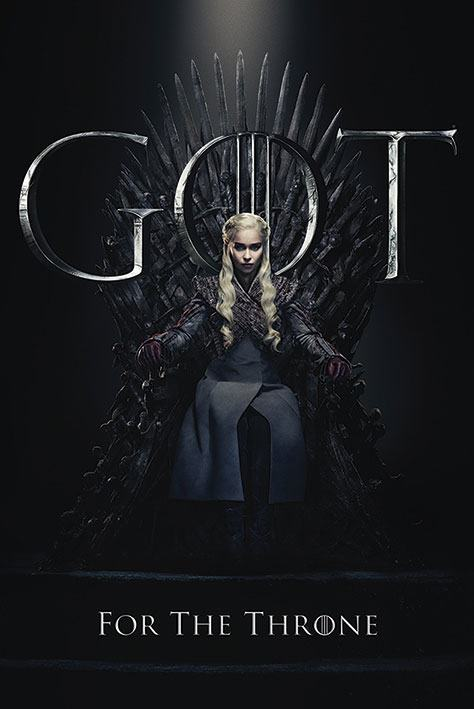 Game of Thrones pack posters Daenerys for the Throne 61 x 91 cm (5)