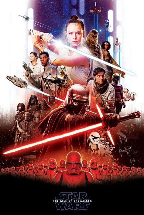 Star Wars Episode IX pack posters Epic 61 x 91 cm (5)