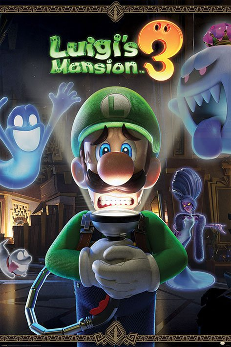 Luigi's Mansion 3 pack posters You're in for a Fright 61 x 91 cm (5)