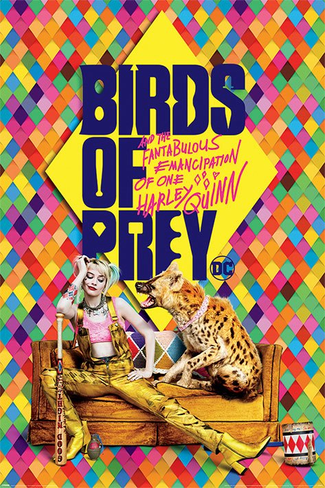 Birds Of Prey pack posters Harley's Hyena 61 x 91 cm (5)