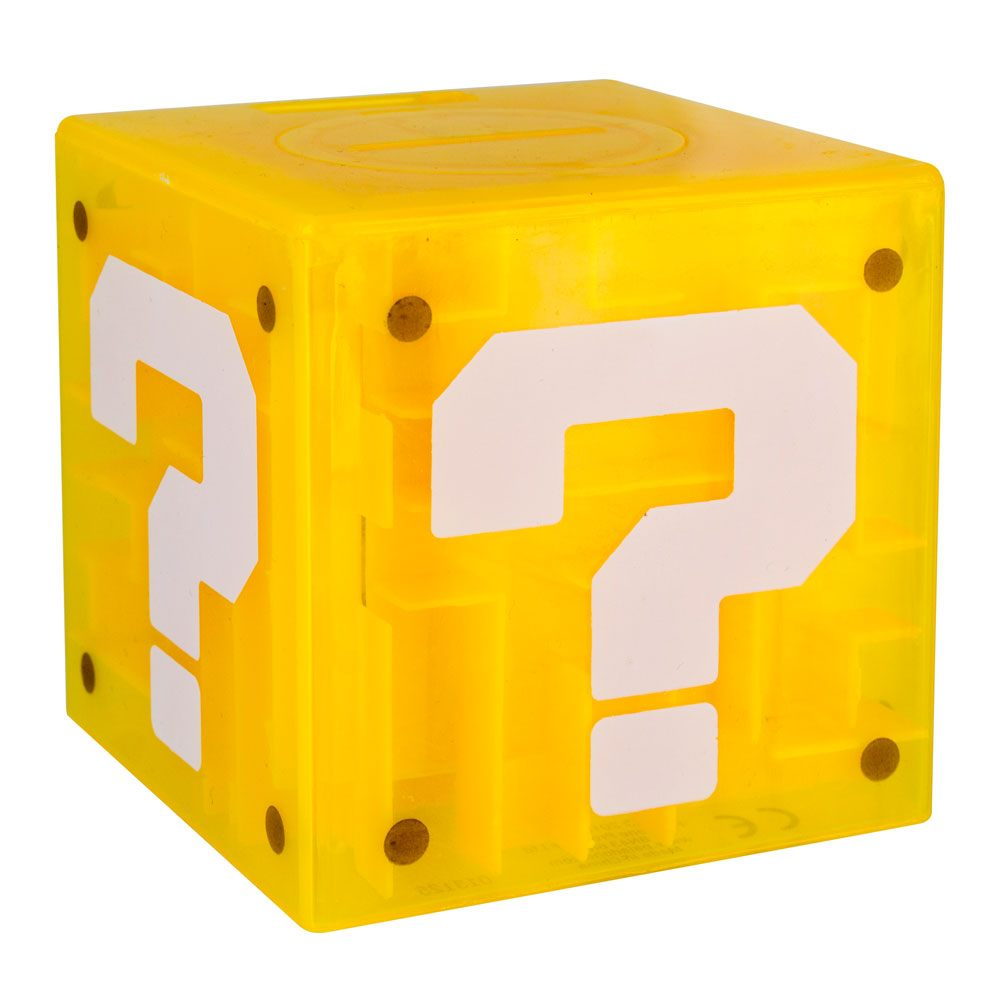 Super Mario tirelire / jeu Maze Question Block