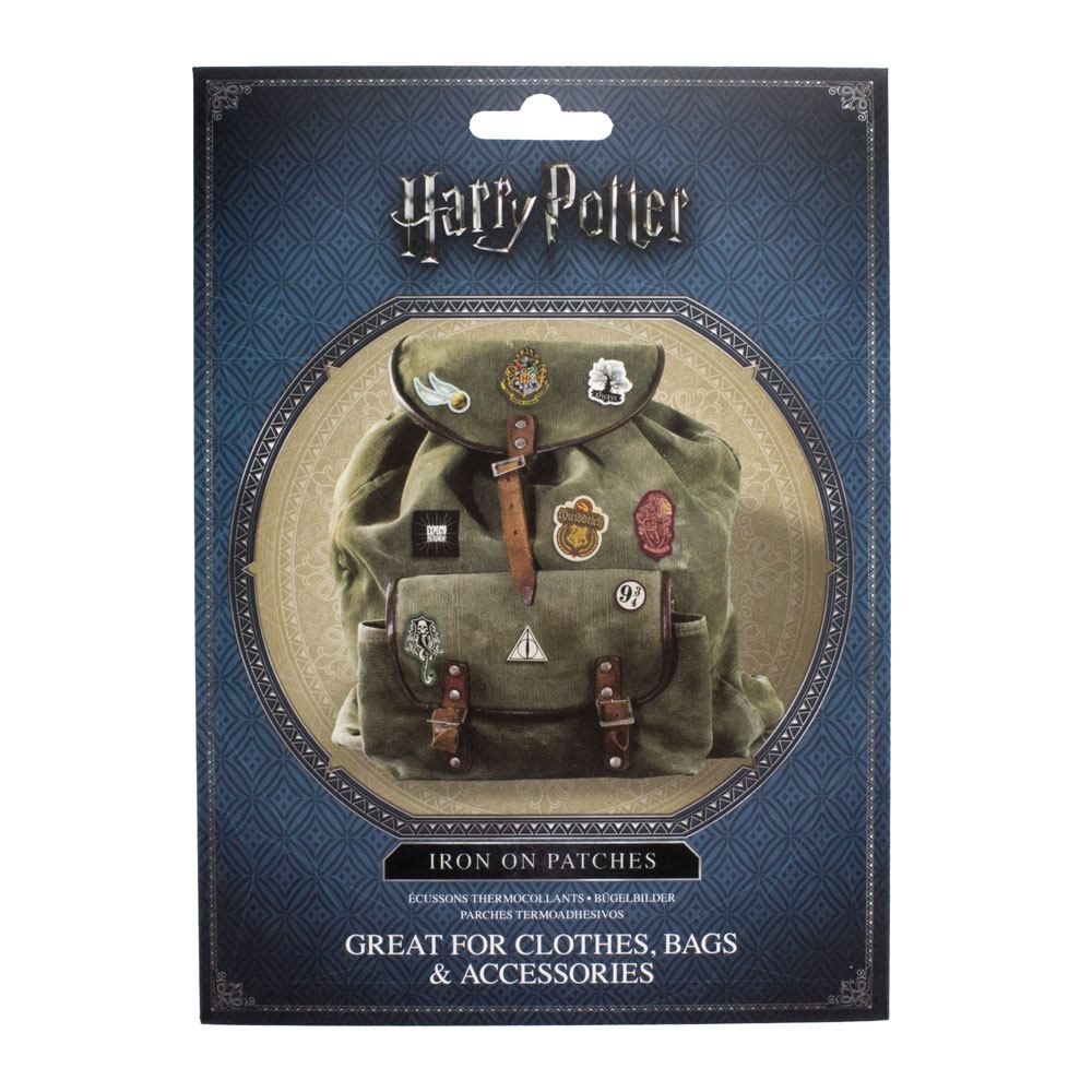 Harry Potter pack 14 patchs thermocollants