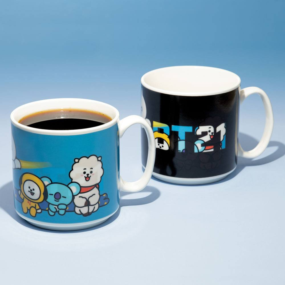 BT21 mug effet thermique Characters