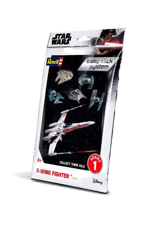 Star Wars série 1 maquette Level 2 Easy-Click X-Wing Fighter
