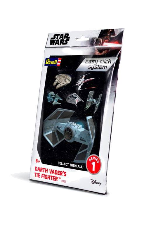 Star Wars série 1 maquette Level 2 Easy-Click Darth Vader TIE Fighter