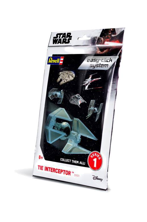 Star Wars série 1 maquette Level 2 Easy-Click TIE Interceptor