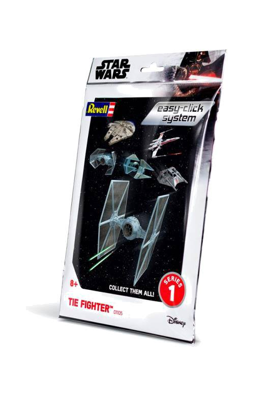 Star Wars série 1 maquette Level 2 Easy-Click TIE Fighter