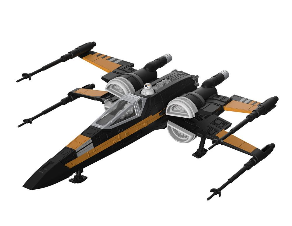 Star Wars pack maquette Build & Play sonore et lumineuse 1/78 Poe's Boosted X-Wing Fighter