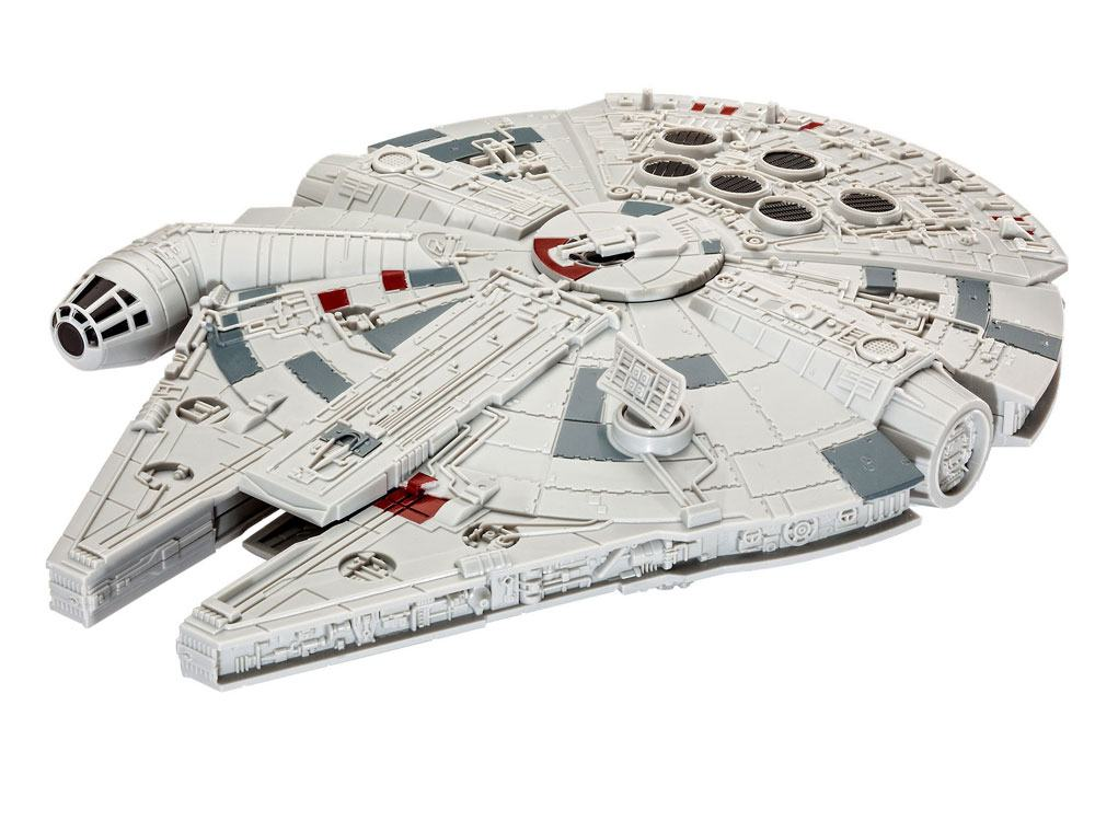 Star Wars pack maquette Build & Play sonore et lumineuse 1/164 Millennium Falcon