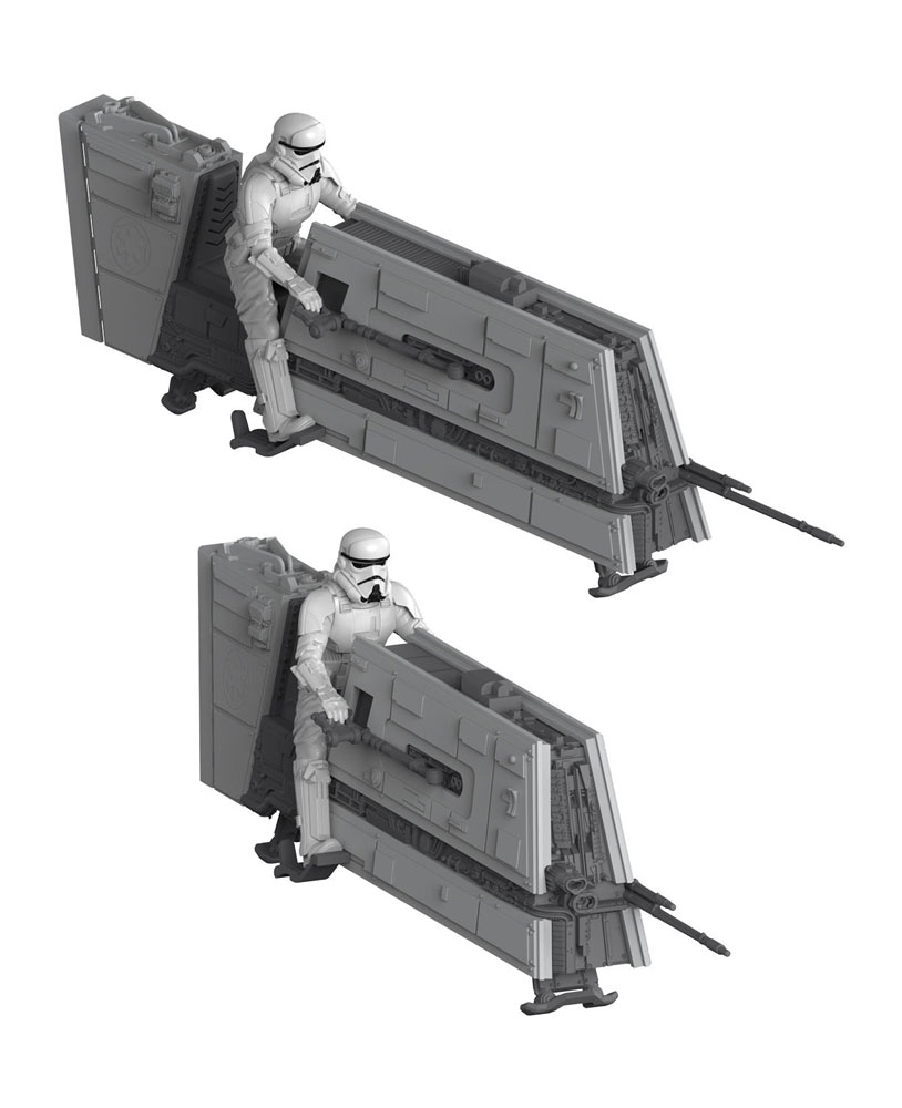 Star Wars Solo pack 2 maquettes Build & Play sonore 1/28 Imperial Patrol Speeder