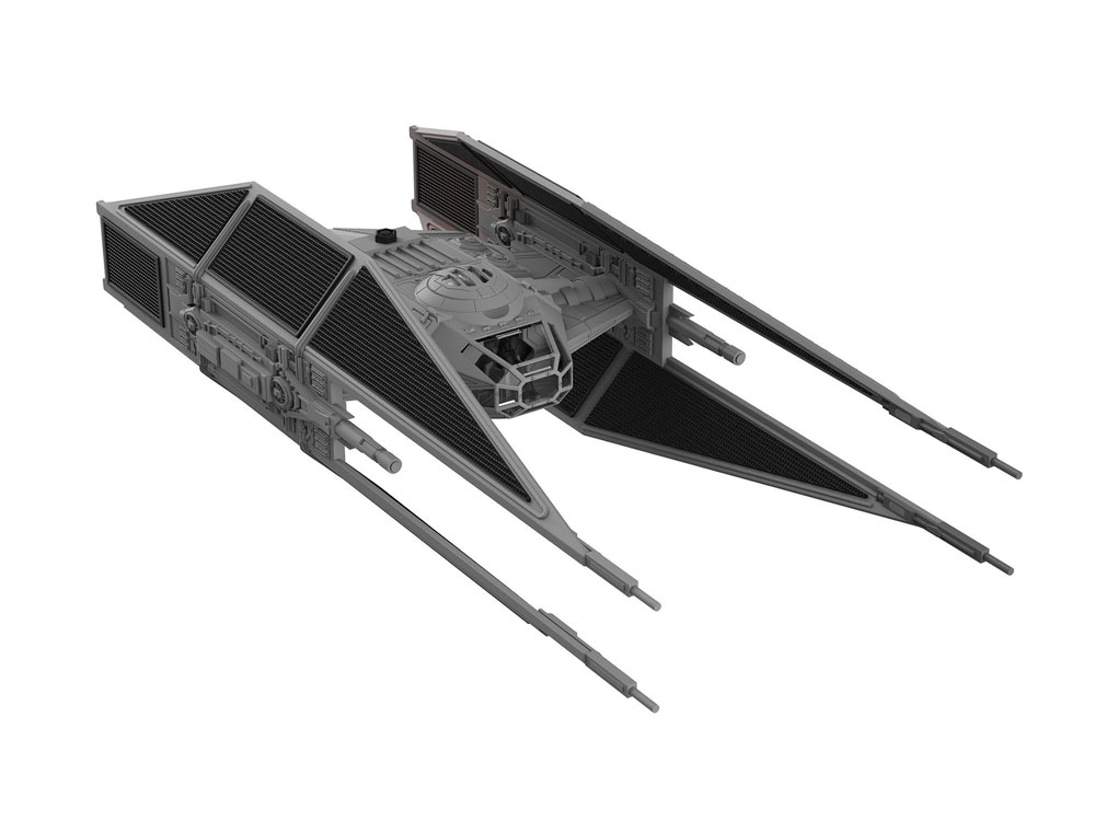Star Wars pack maquette Build & Play sonore et lumineuse 1/70 Kylo Ren's TIE Fighter