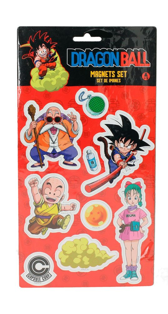 Dragon Ball pack aimants Set A