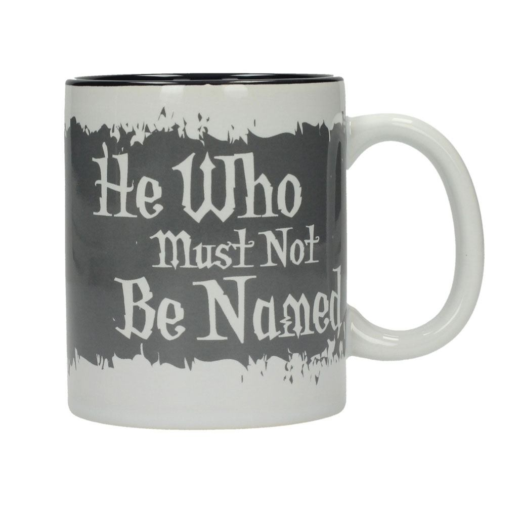 Harry Potter mug He Who Must Not Be Named