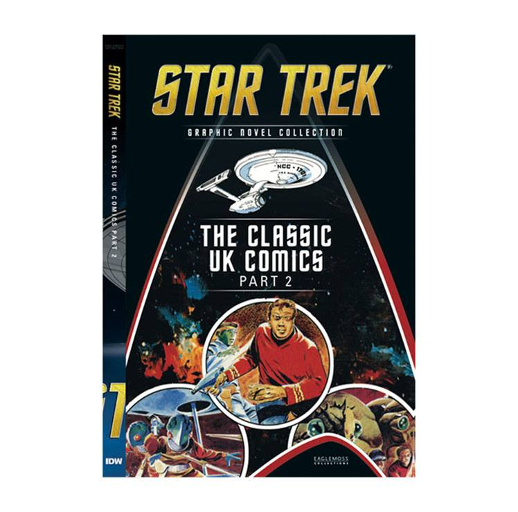 Star Trek Graphic Novel Collection bandes dessinées Vol. 20: Classic UK Comics Part 2 (10) *ANGLAIS*