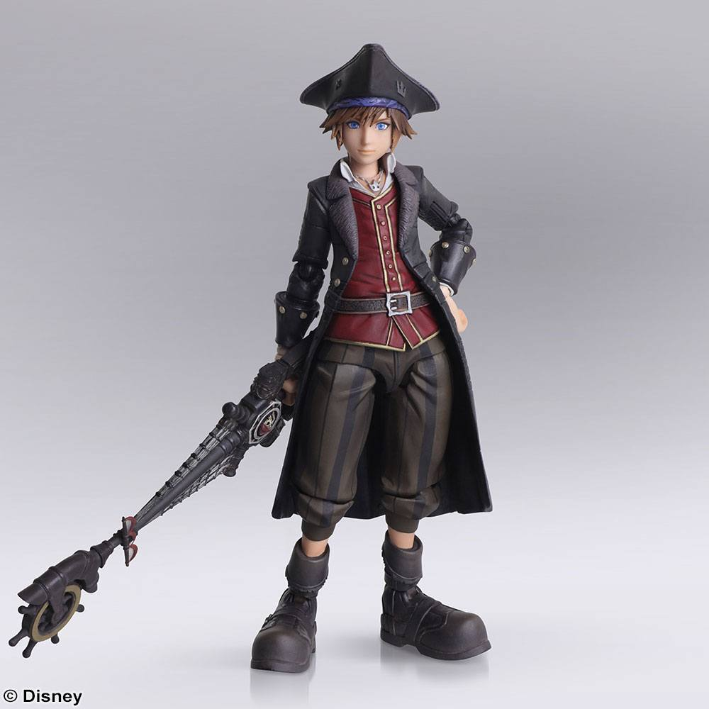 Kingdom Hearts III Bring Arts figurine Sora Pirates of the Caribbean Ver. 15 cm