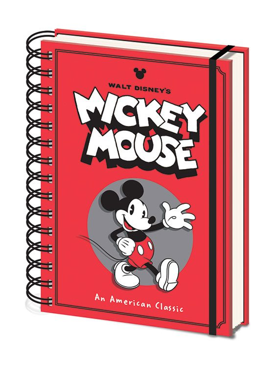 Mickey Mouse cahier à spirale A5 Wiro Wave