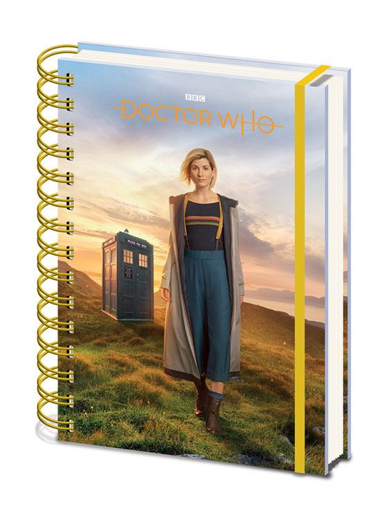 Doctor Who cahier à spirale A5 Wiro 13th Doctor