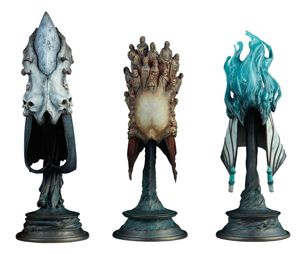 Court of the Dead pack 3 répliques 1/4 The Aspects of Death Mask 20 cm