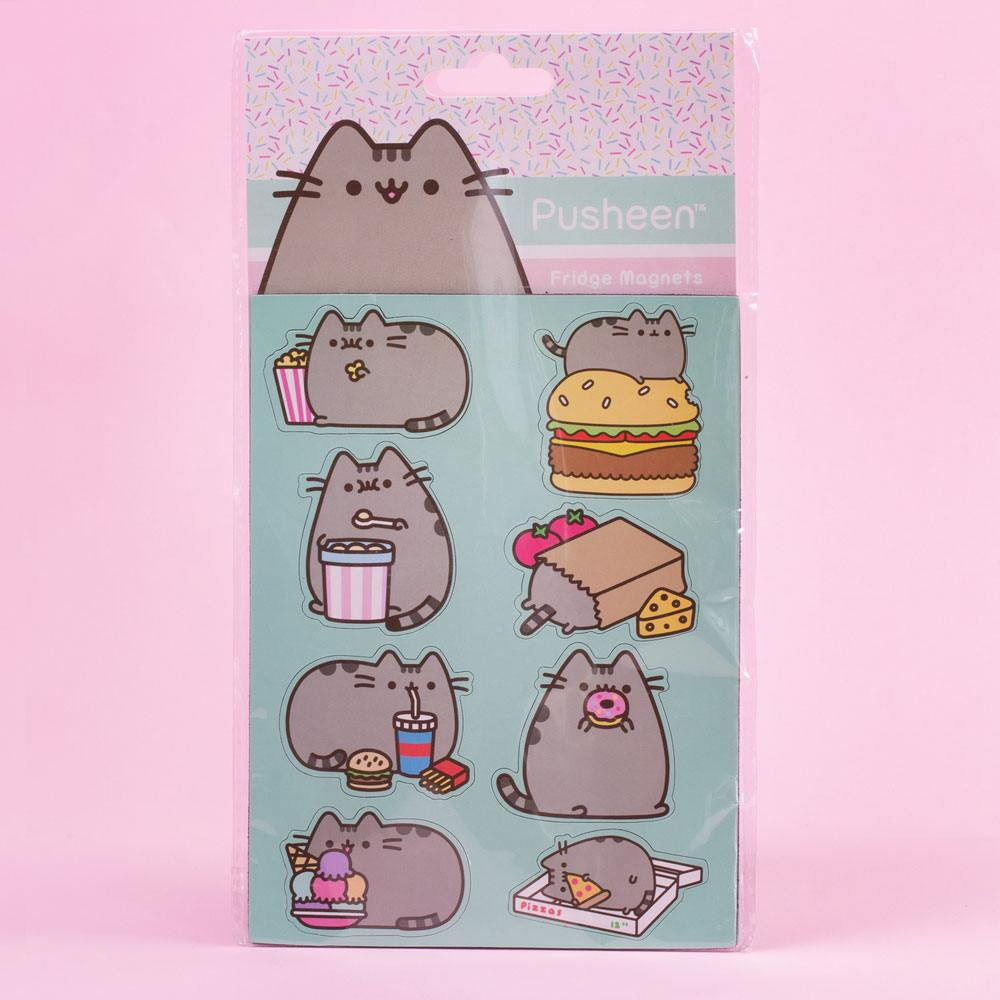 Pusheen pack aimants