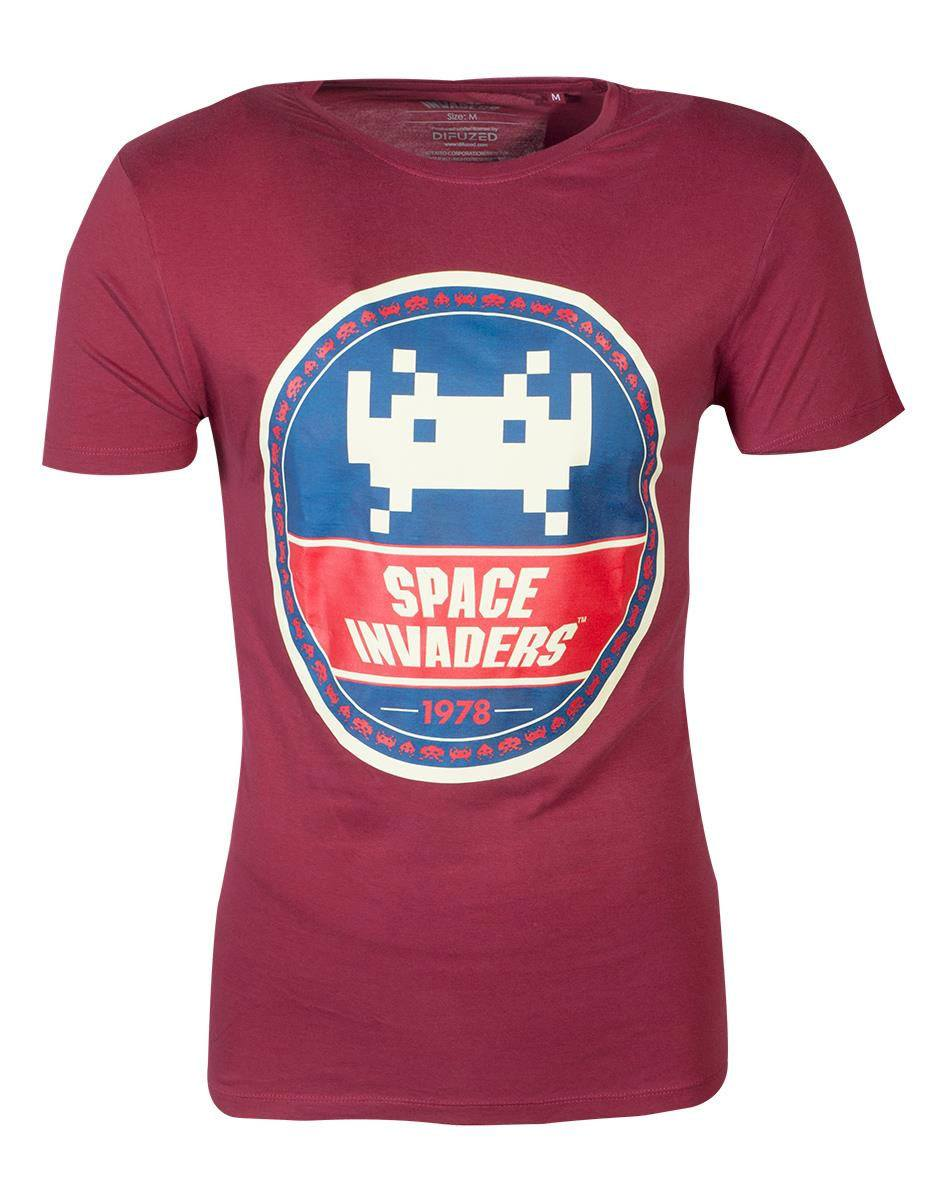 Space Invaders T-Shirt Round Invader (S)