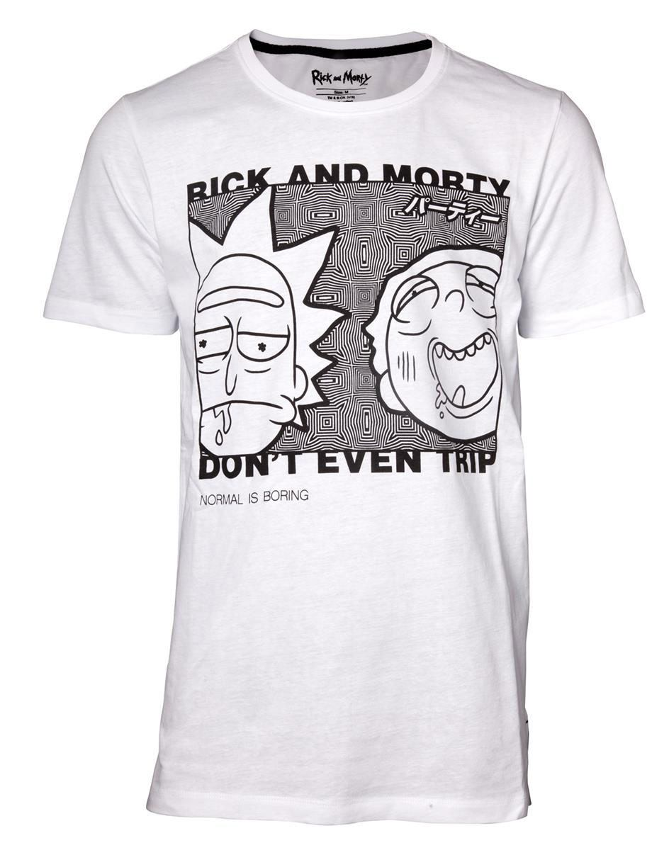 Rick et Morty T-Shirt Don't Even Trip (M)