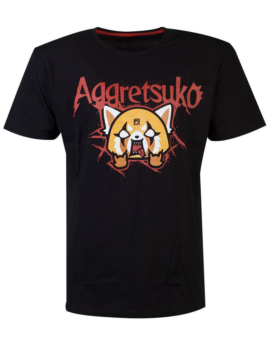 Aggretsuko T-Shirt Trash Metal (L)
