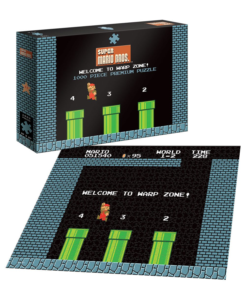 Super Mario Puzzle Welcome to Warp Zone
