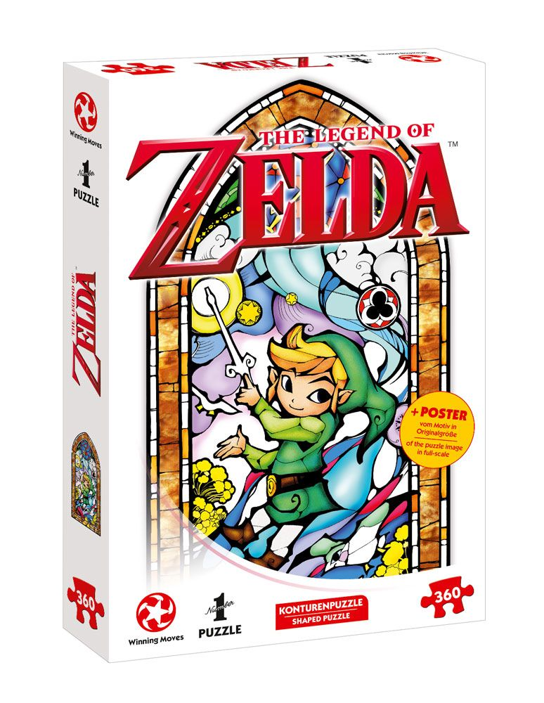 The Legend of Zelda Puzzle Link Wind Waker