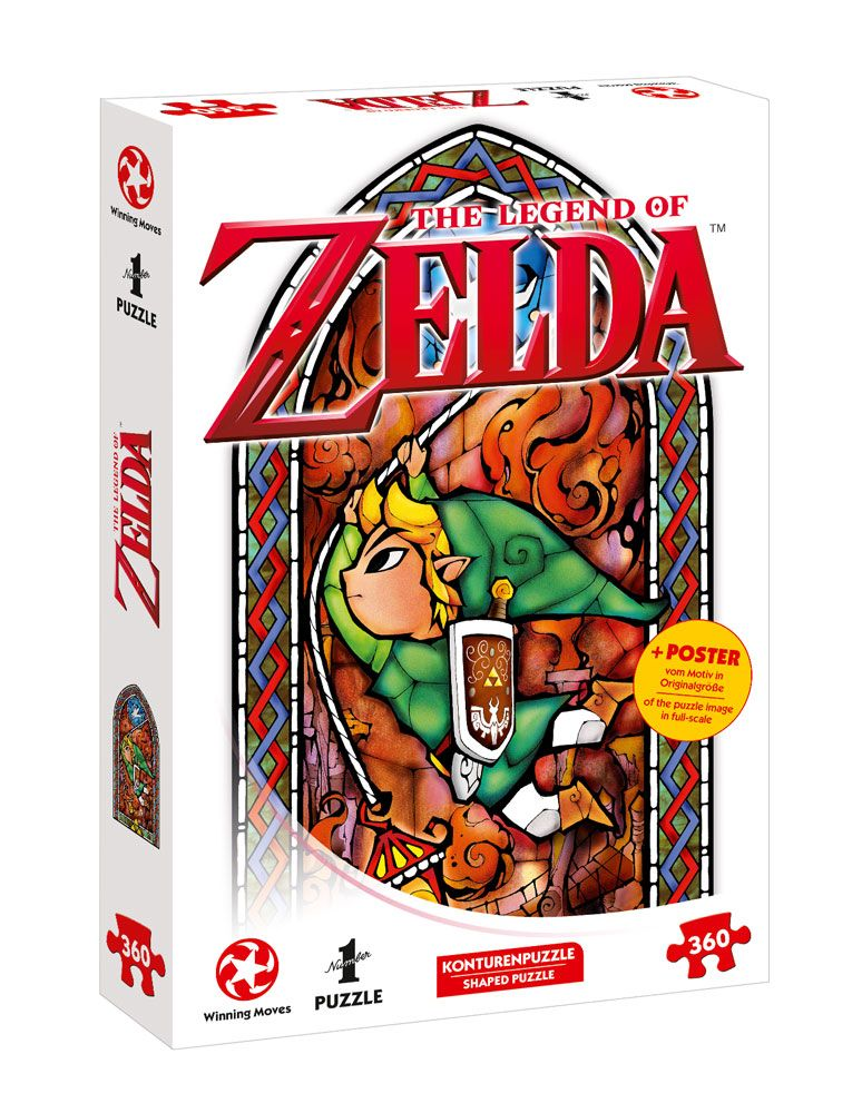 The Legend of Zelda Puzzle Link Adventurer