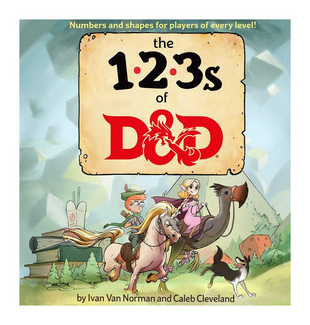 Dungeons & Dragons livre éducatif The 123s of D&D *ANGLAIS*